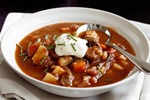 The Local Grills' Smokey Goulash Soup