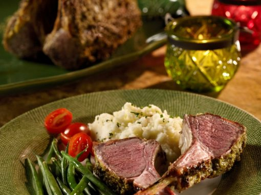 Gourmet Rack of Lamb