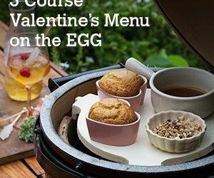 3 Course Valentine's Menu
