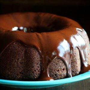 Potato Truffle Chocolate Cake